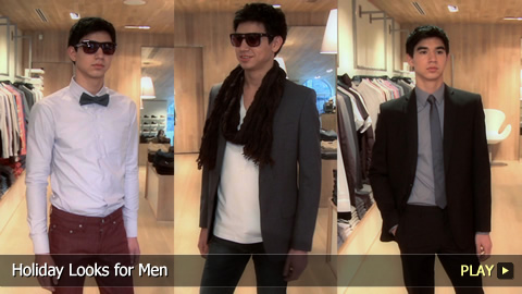 Holiday Looks for Men