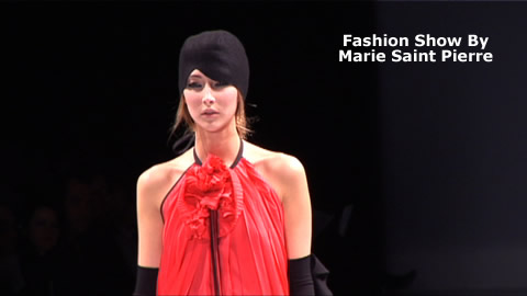 Fashion Show: Marie Saint Pierre