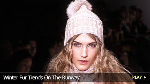 Winter Fur Trends On The Runway