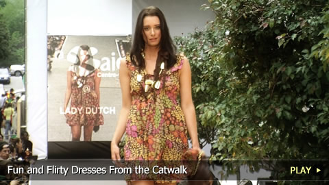 Fun and Flirty Dresses From the Catwalk