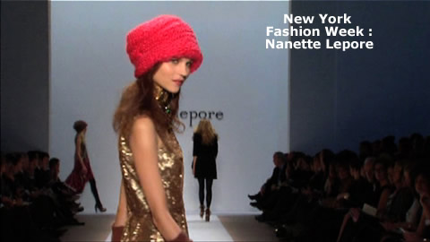 New York Fashion Week: Fall 2009 : Nanette Lepore
