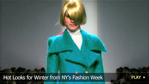 Hot Looks for Winter from NY's Fashion Week