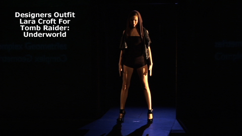Virtually Fashionable: Costumes for  Videogame Icon Lara Croft