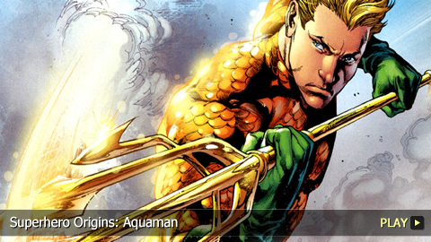 Superhero Origins: Aquaman