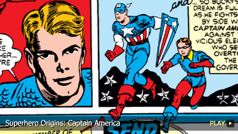 Superhero Origins: Captain America