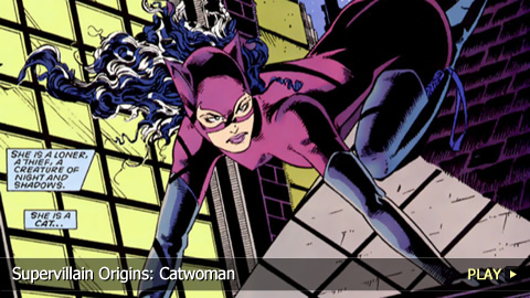 Supervillain Origins: Catwoman