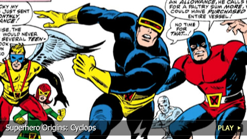 Superhero Origins: Cyclops