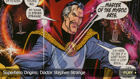 Superhero Origins: Doctor Stephen Strange