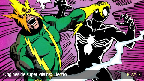 Origines de super vilains: Electro