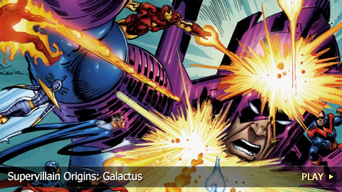 Supervillain Origins: Galactus 