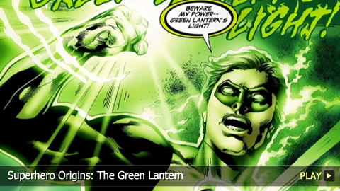 Superhero Origins: The Green Lantern