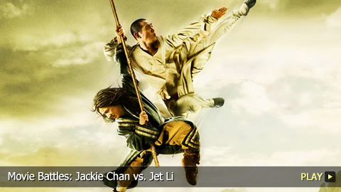 Jackie Chan Vs Jet Li