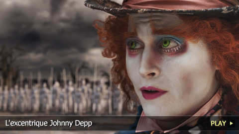 L'excentrique Johnny Depp