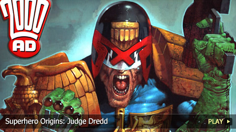 Superhero Origins: Judge Dredd