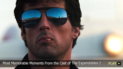 Top 10 Most Memorable Moments From the Cast of The Expendables 2