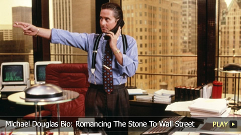 Michael Douglas Bio: From Romancing The Stone To Wall Street
