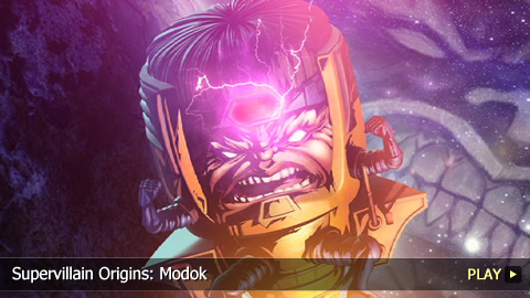 Supervillain Origins: Modok