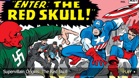 Supervillain Origins: The Red Skull