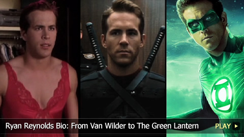 Ryan Reynolds Bio: From Van Wilder to The Green Lantern