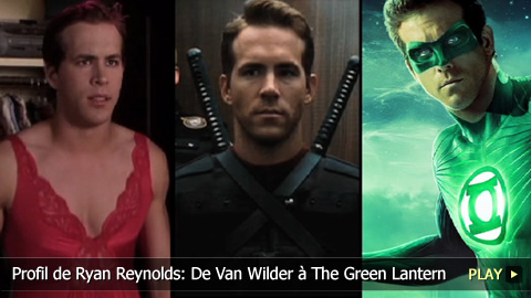 Profil de Ryan Reynolds: De Van Wilder  The Green Lantern