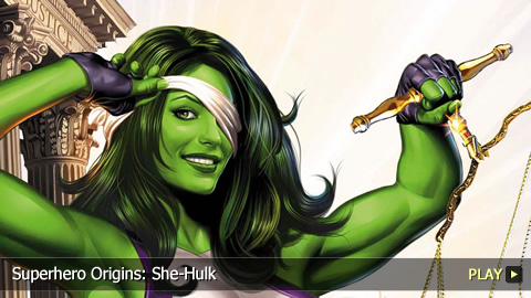 Superhero Origins: She-Hulk