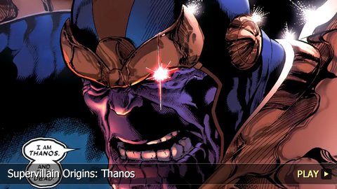 Supervillain Origins: Thanos