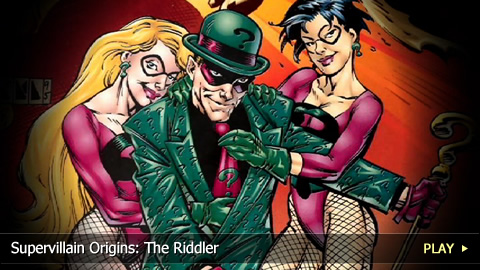 Supervillain Origins: The Riddler