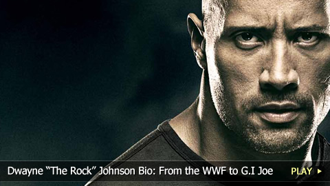 Dwayne The Rock Johnson Bio: From the WWF to G.I Joe