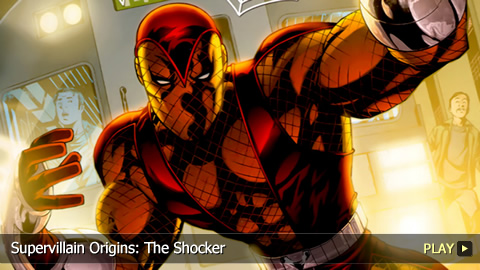 Supervillain Origins: The Shocker