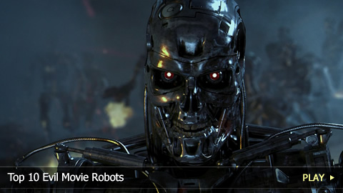 Top 10 Evil Movie Robots