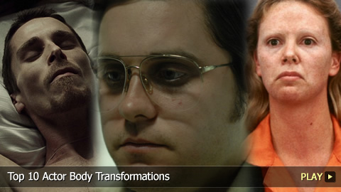 Top 10 Actor Body Transformations