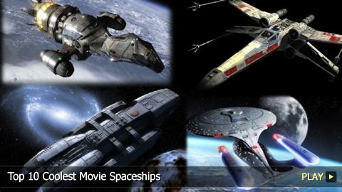 Top 10 Coolest Movie Spaceships