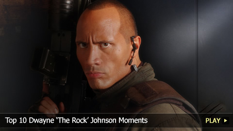 Top 10 Dwayne The Rock Johnson Moments