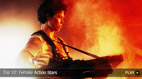 Top 10: Female Action Stars