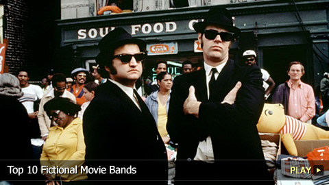 Top 10 Fictional Movie Bands