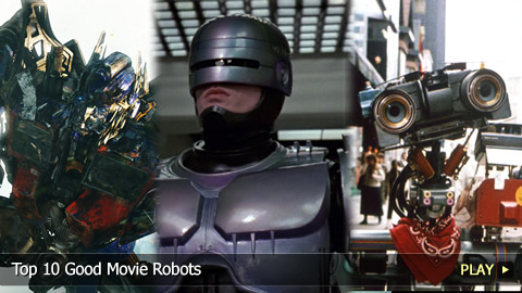 Top 10 Good Movie Robots
