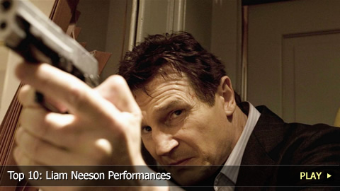Top 10: Liam Neeson Performances
