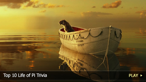 Top 10 Life of Pi Trivia