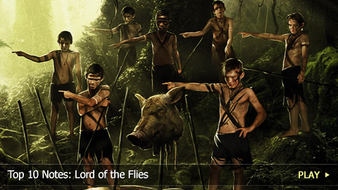 interior monologue of a character from lord of the flies by william golding William golding, the noble prize winner novelist finds jack's tribe in the interior part of the island i remember alluding in passing to the idea of original sin and i suppose lord of the flies lord of the flies.