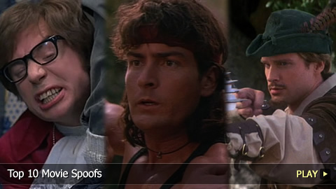 Top 10 Movie Spoofs 