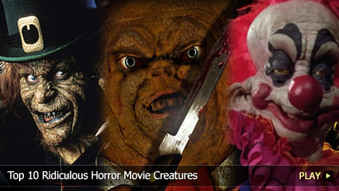 Top 10 Ridiculous Horror Movie Creatures