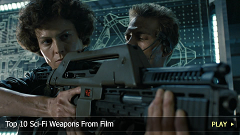 Top 10 Sci-Fi Weapons From Film