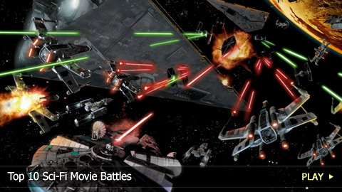 Top 10 Sci-Fi Movie Battles