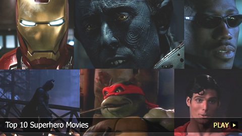 Top 10 Superhero Movies
