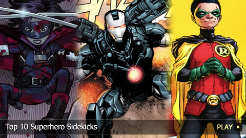Top 10 Superhero Sidekicks
