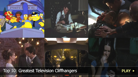 Top 10: Greatest Television Cliffhangers