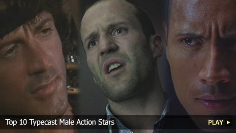 Top 10 Typecast Male Action Stars 