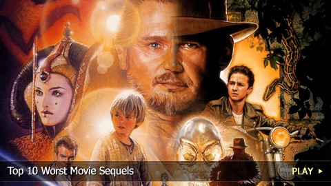 Top 10 Worst Movie Sequels