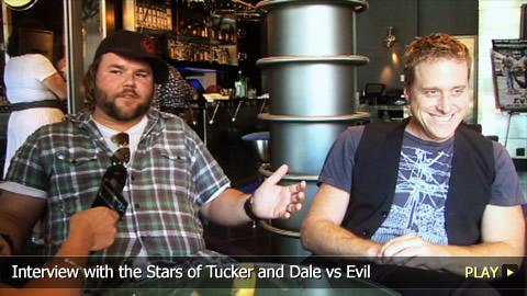 Interview With the Stars of Tucker and Dale vs Evil