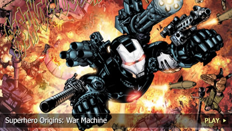 Superhero Origins: War Machine